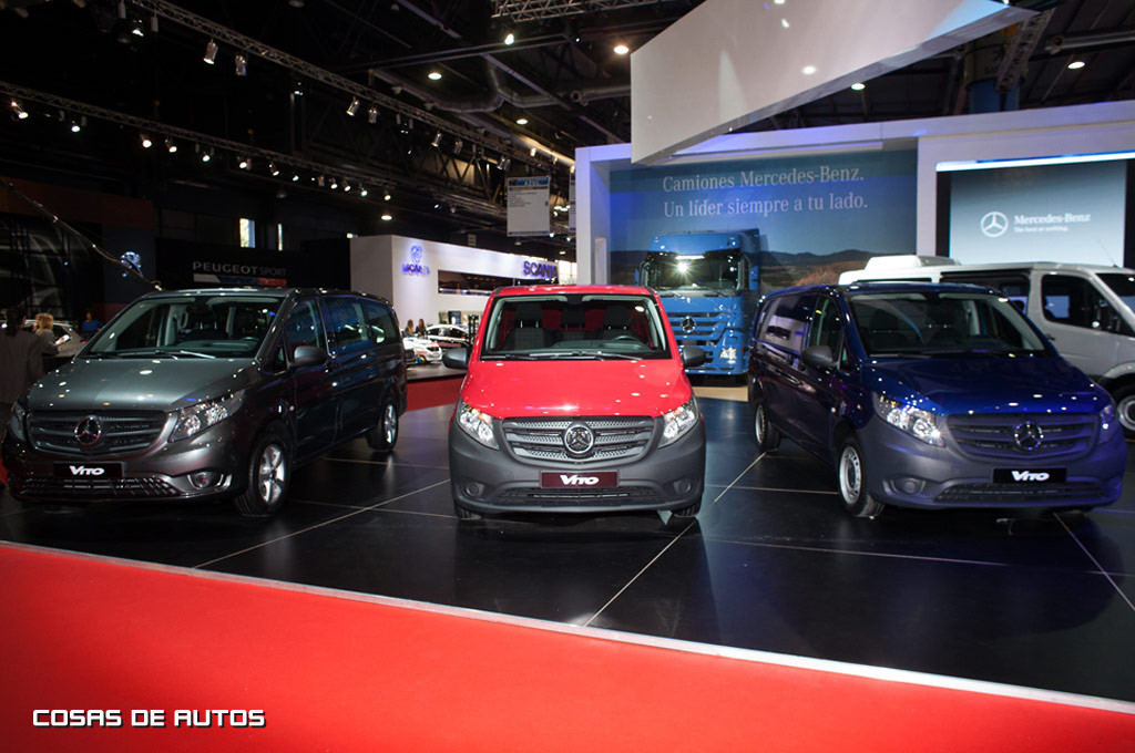 Stand de Mercedes-Benz en Salón de Buenos Aires