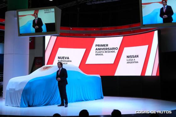 Stand de Nissan en Salón de Buenos Aires
