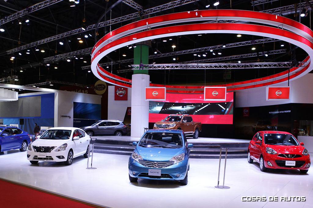 Stand de Nissan en el Salón de Buenos Aires.