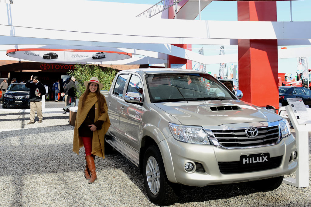 Agroactiva 2015: Toyota está presente con 14 vehículos