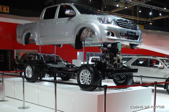 stand de Toyota Argentina en el Salón de Buenos Aires 2015