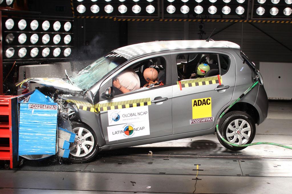 Fiat Palio logró 4 estrellas Latin NCAP