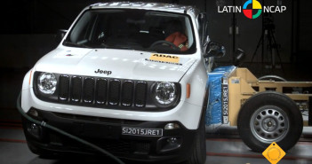 Jeep Renegade 5 estrellas de Latin NCAP