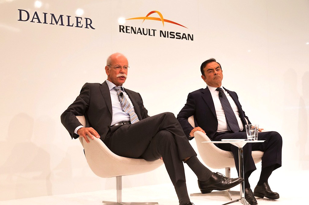 Renault Nissan y Daimler