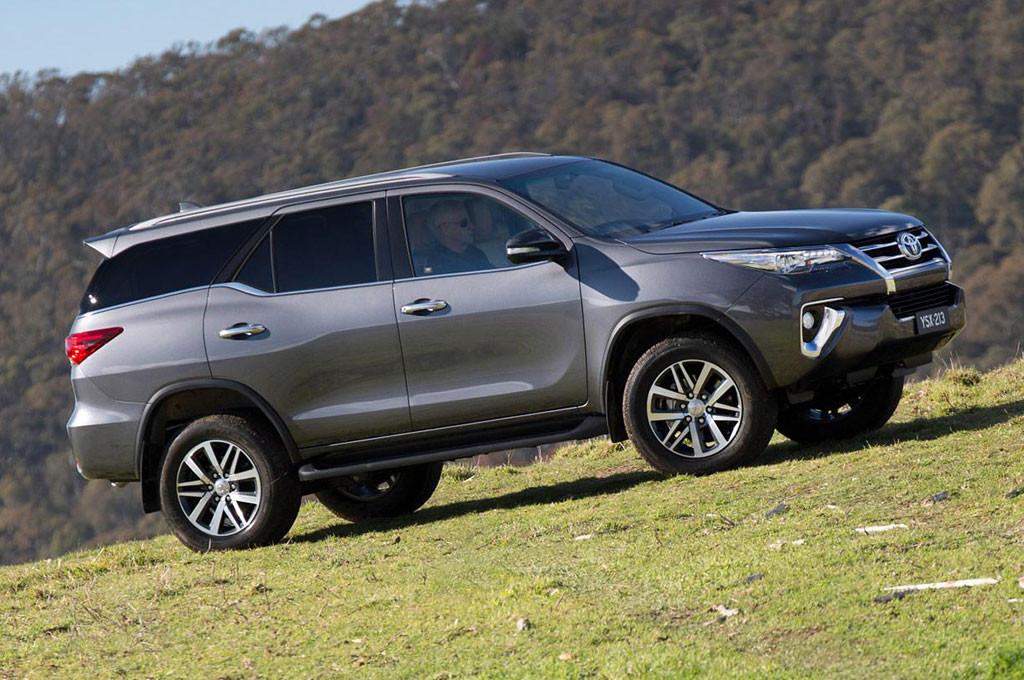 Nueva Toyota SW4 / Fortuner