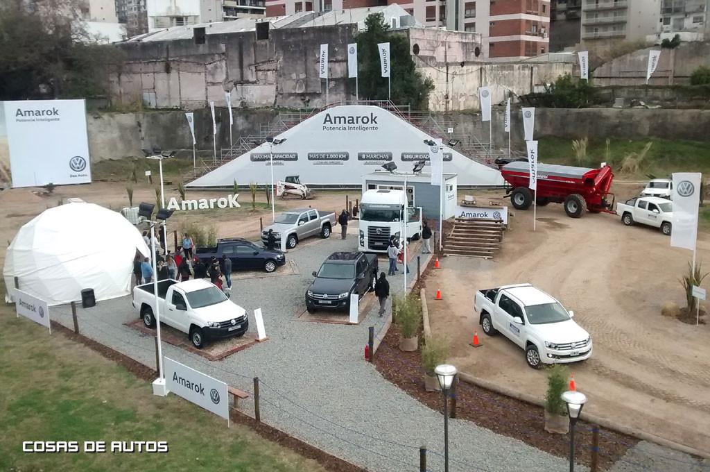 Volkswagen está presente en La Rural