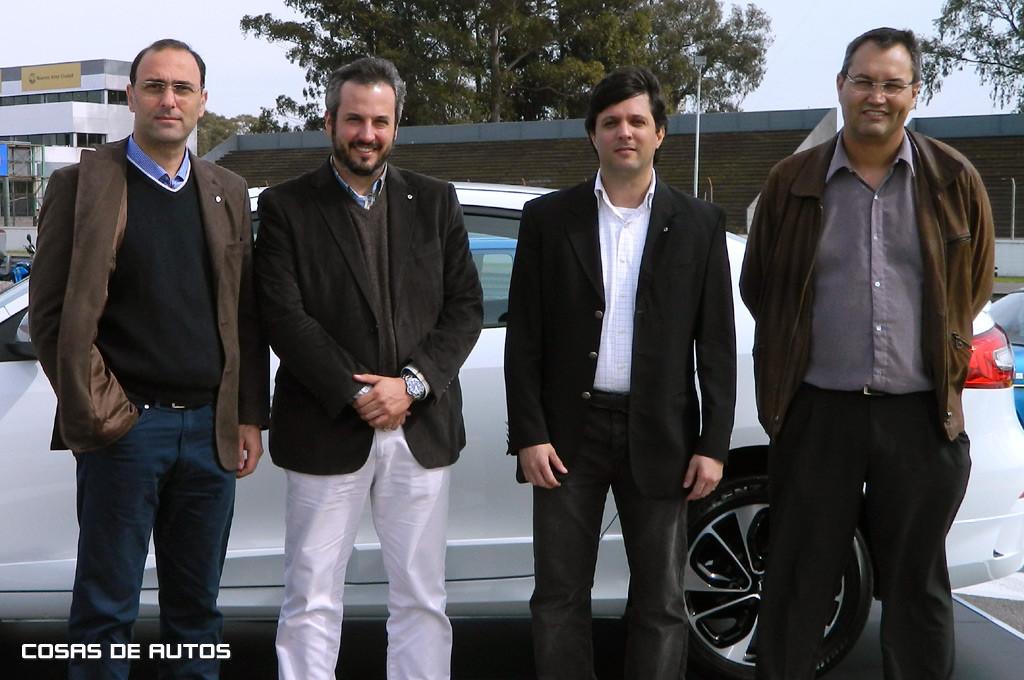 Ingenieros de Renault Santa Isabel