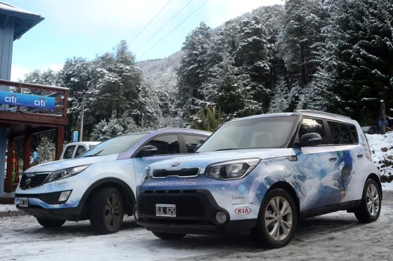 KIA Winter 2015 en Cerro Bayo