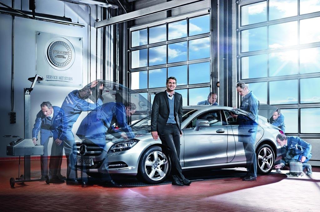 Mercedes-Benz congela el precio del mantenimiento por dos años
