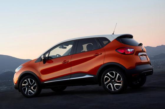 Renault Captur europeo.