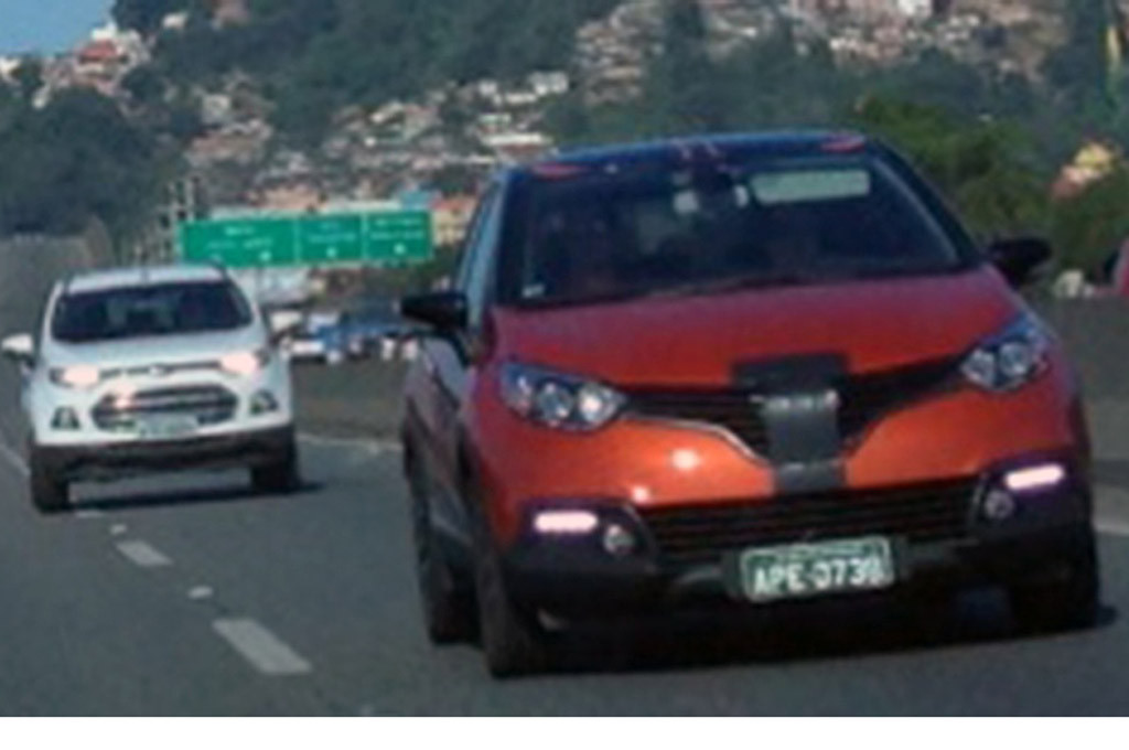 Mula de Renault Captur en Brasil