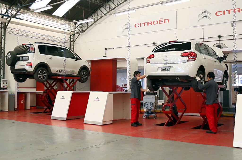 Posventa: Citroën Service Racing