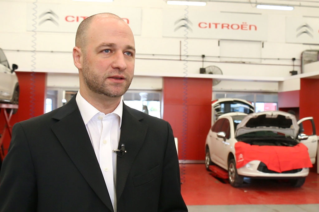 Franklin Bendahan, Director de Posventa de Citroën Argentina