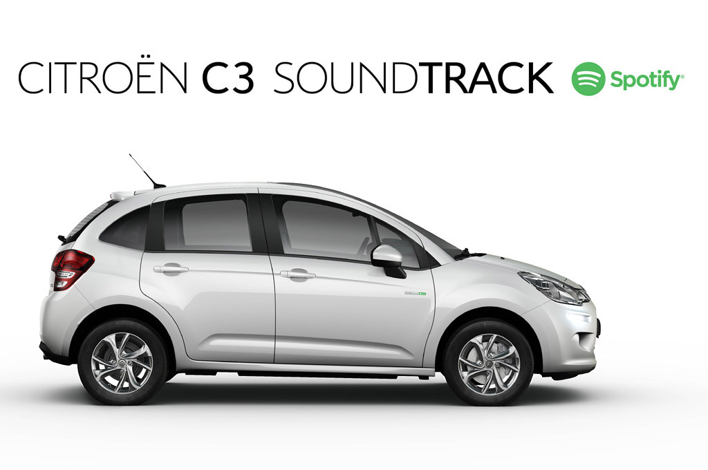 Citroen C3 Soundtrack