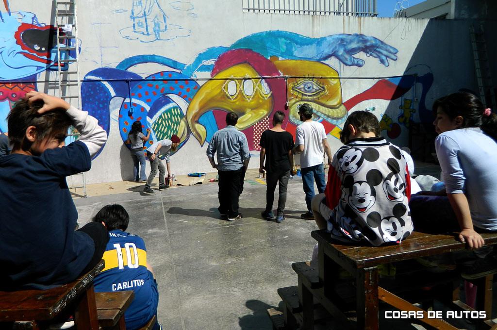 """Federico S.A. y Toyota Argentina lanzaron el proyecto artístico """"PARed"""""""