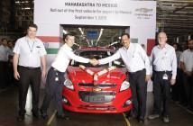 GM India ya exporta el Spark a México