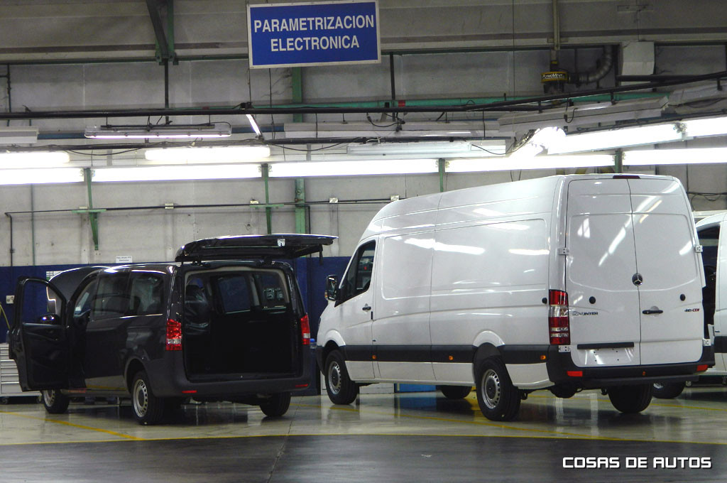 Mercedes Vito y Sprinter