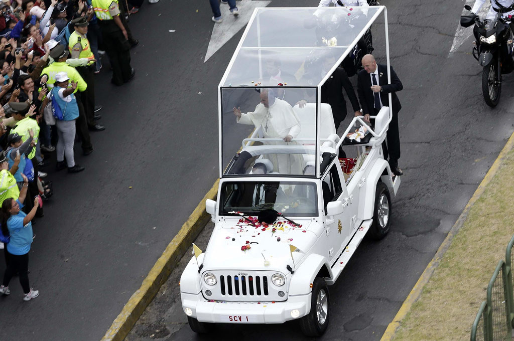 Papamóvil Jeep Wrangler