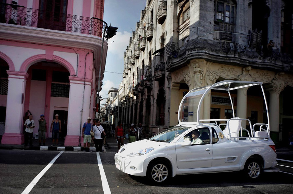 El papamóvil cubano será una Peugeot Hoggar