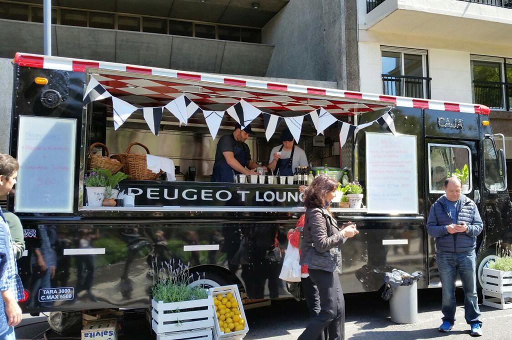 Peugeot Food Truck