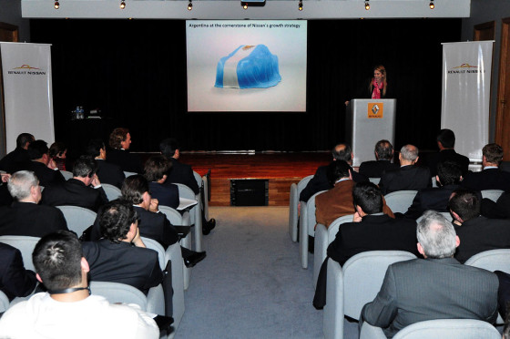 Giorgi estuvo presente en el Seminario organizado por Renault-Nissan.