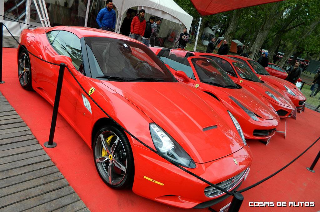 Club Ferrari en Autoclásica