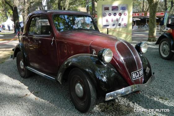 Fiat en Autoclásica 2015