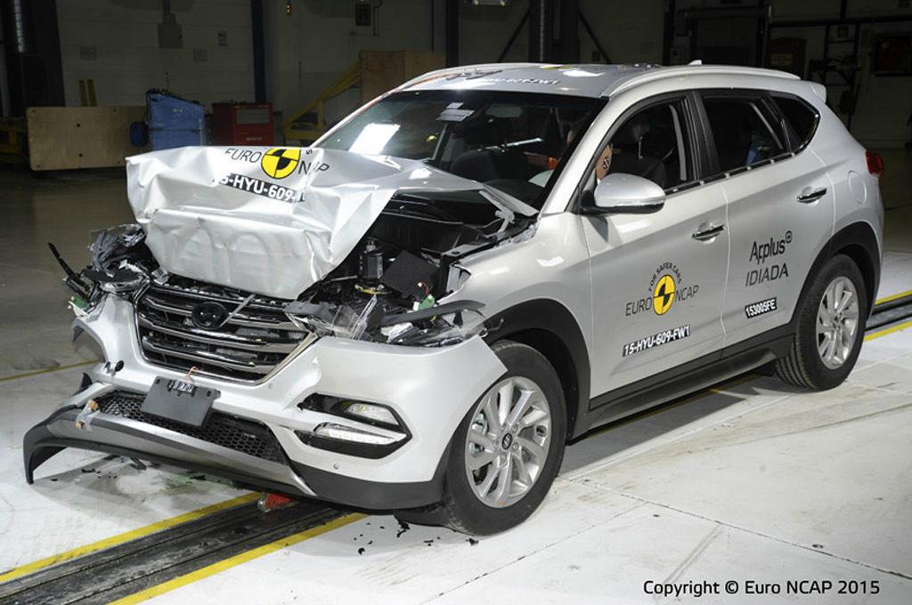 La nueva Hyundai Tucson obtuvo altísima calificación de Euro NCAP
