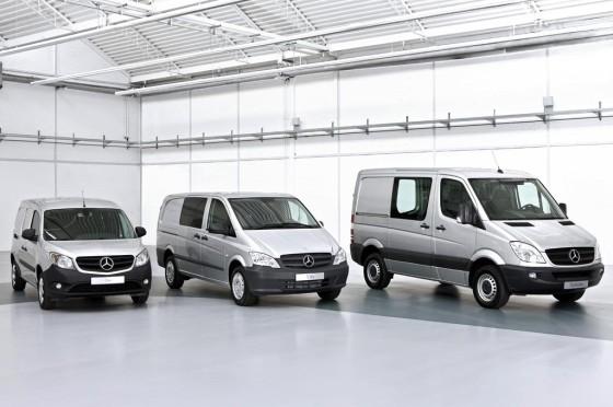Gama de utilitarios de Mercedes-Benz.