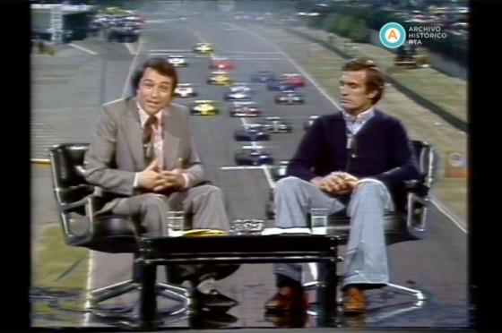 """""""Con Reutemann a fondo"""", programa especial de ATC"""
