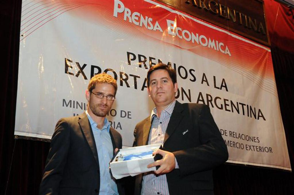 Corven recibió el premio a la Exportación Argentina
