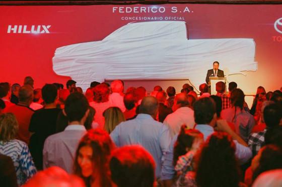 Lanzamiento de Nueva Hilux en Federico S.A.