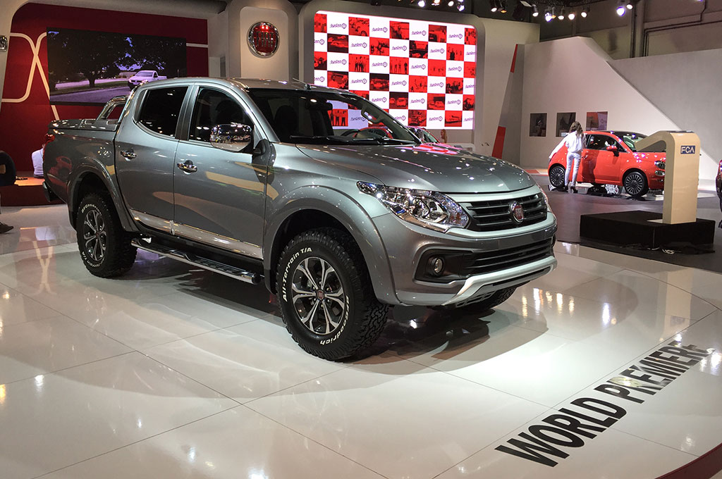 debut mundial de la fiat fullback una pick up basada en la mitsubishi l 200 cosas de autos blog. Black Bedroom Furniture Sets. Home Design Ideas