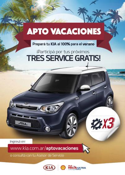 #Posventa: Kia Argentina lanza una promo previa a las vacaciones