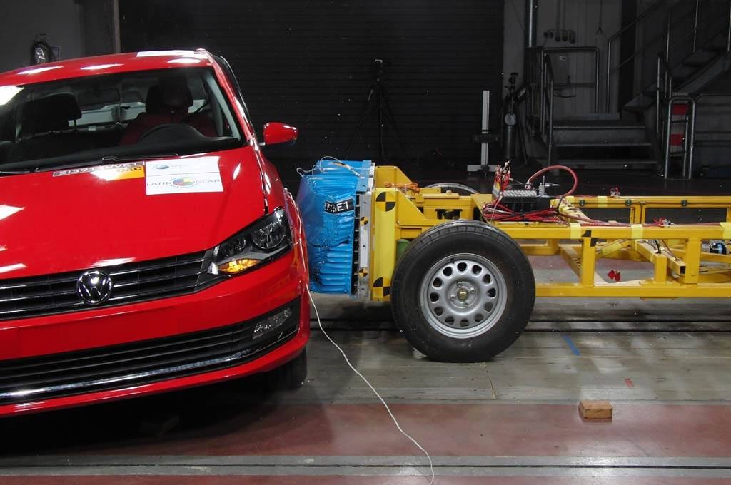 Volkswagen Polo alcanzó las 4 estrellas Latin NCAP