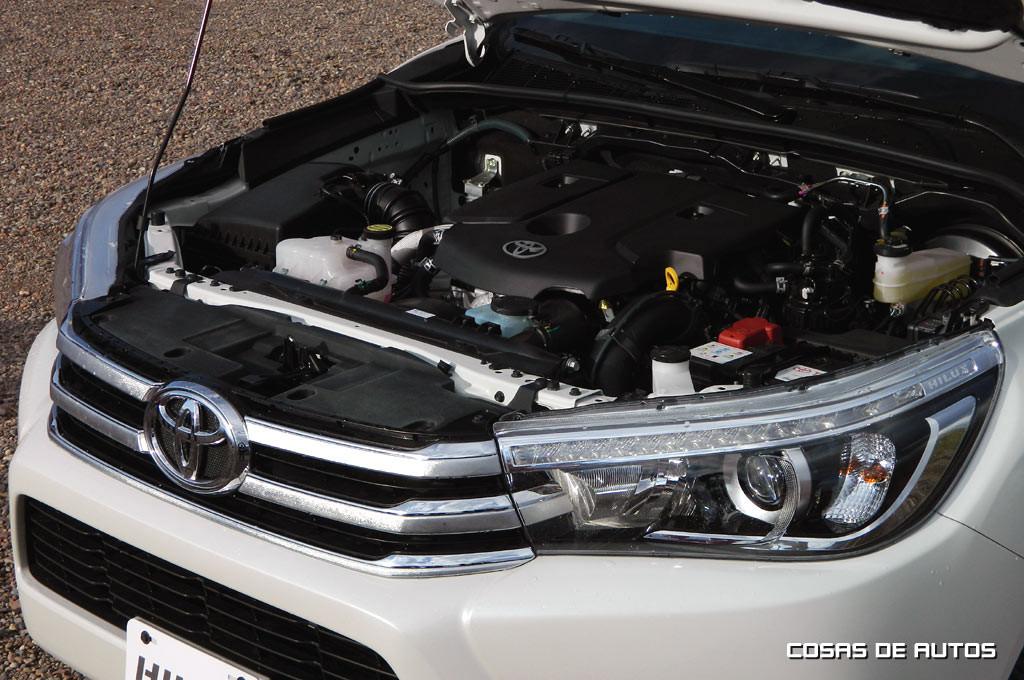 La Nueva Hilux ofrece nuevos conjuntos de motor y transmisiones.