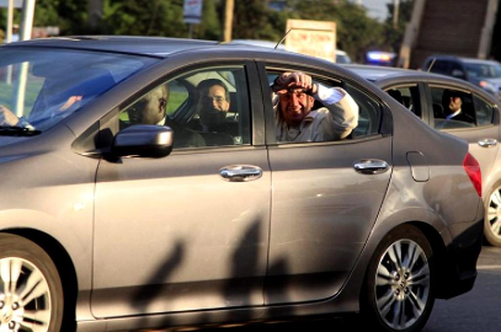 """Para sus traslados """"rápidos"""", Francisco usó un Honda City"""