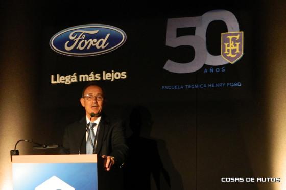 Enrique Alemañy, presidente de Ford Grupo Sur.