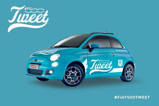 #Fiat500Tweet