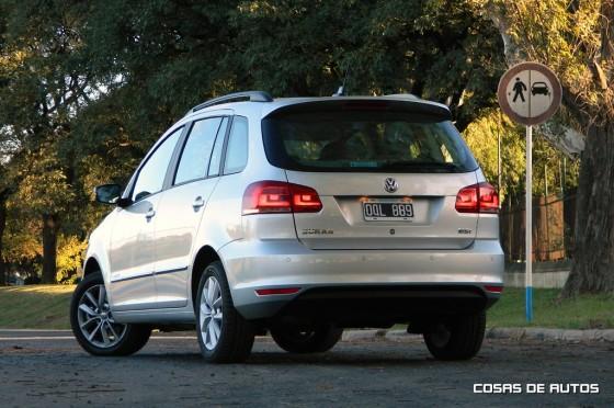 Test del Volkswagen Suran Highline MT - Foto: Cosas de Autos