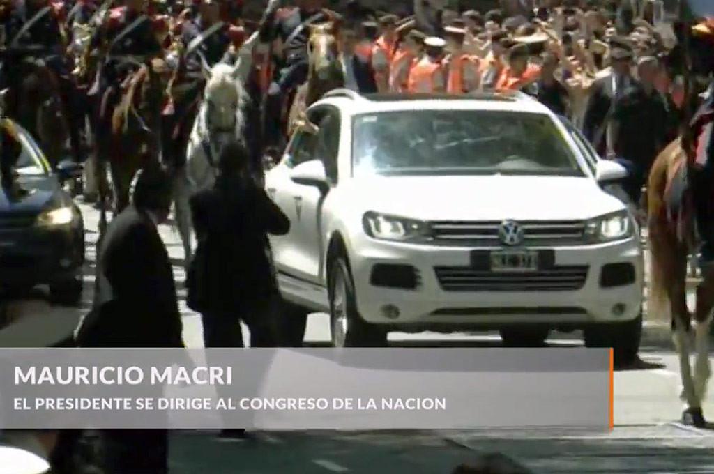 Touareg usada por Macri