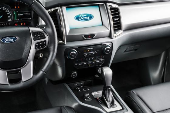 Interior de la Nueva Ford Ranger