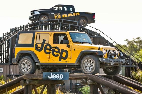 Clínicas off road de Jeep y RAM