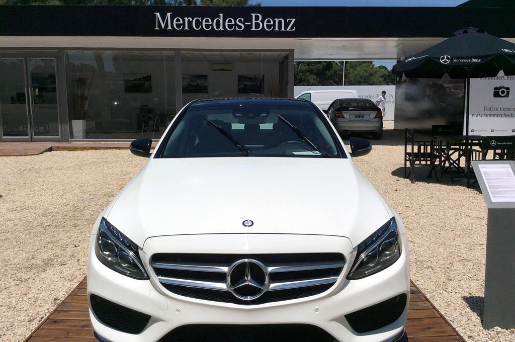 #Verano2016: Mercedes-Benz está presente en Pinamar