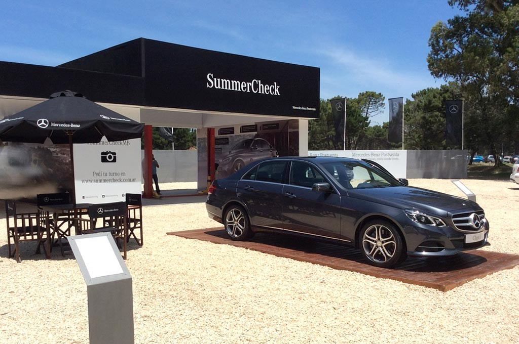#Verano2016: Mercedes-Benz está presente en Pinamar con #SummerCheckMB