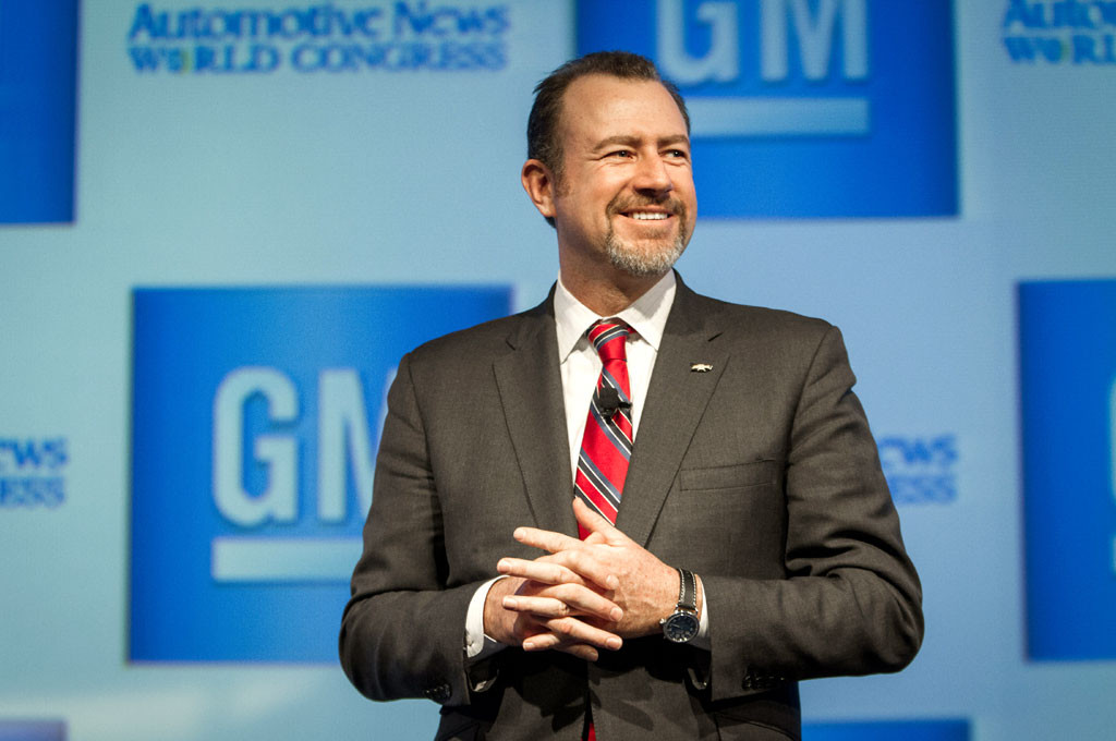 Dan Ammann, presidente mundial de General Motors