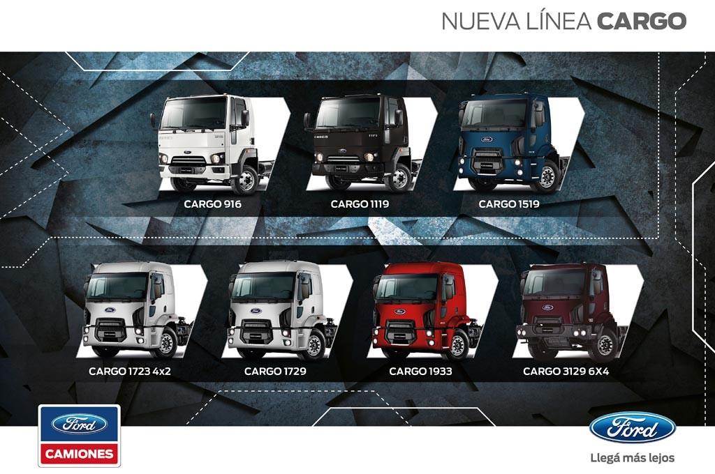 Nueva línea Ford Cargo Euro V