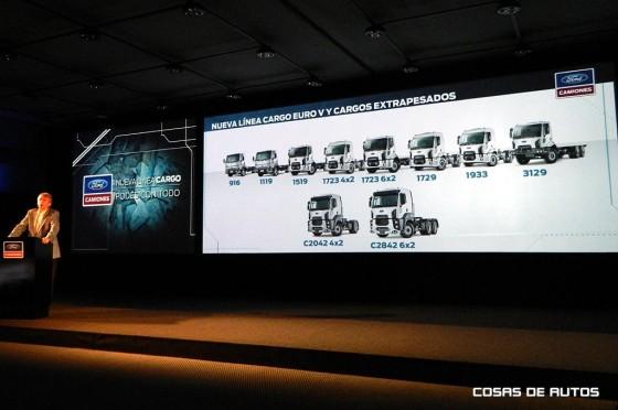 Juan Carlos Janocko, gerente de ventas y marketing de Ford Camiones