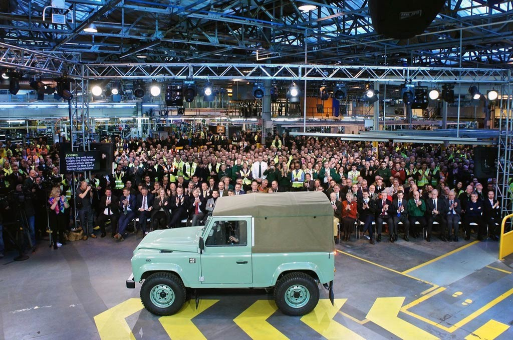 Último Land Rover Defender