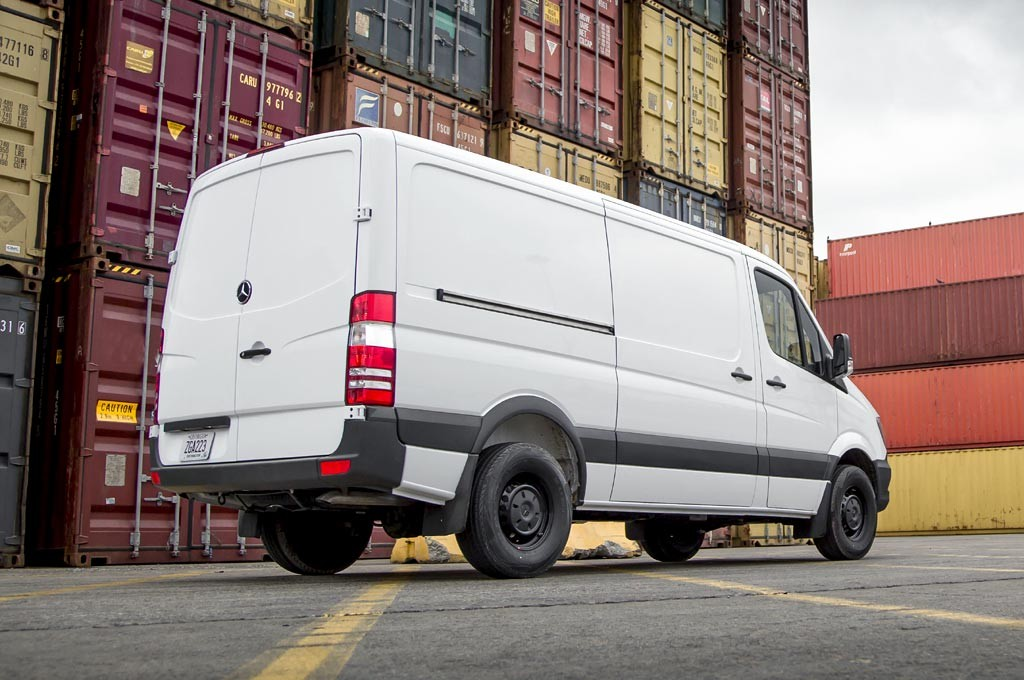 Nueva Mercedes-Benz Sprinter Worker